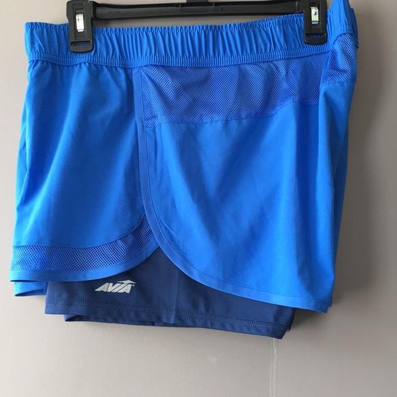 7762f0450b9 Avia Pants - AVIA Running Shorts w  Liner